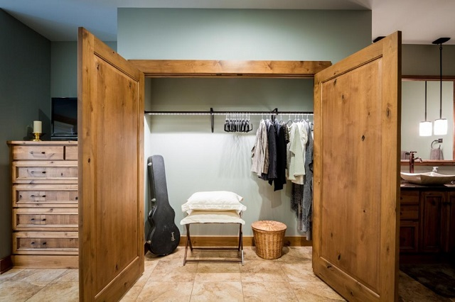 Even a small closet can be hugely improved by the addition of even a single light
