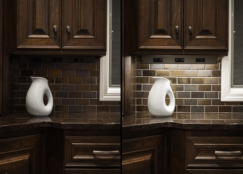 You might not notice your lighting is lacking...untill you see what a difference a single accent light can make