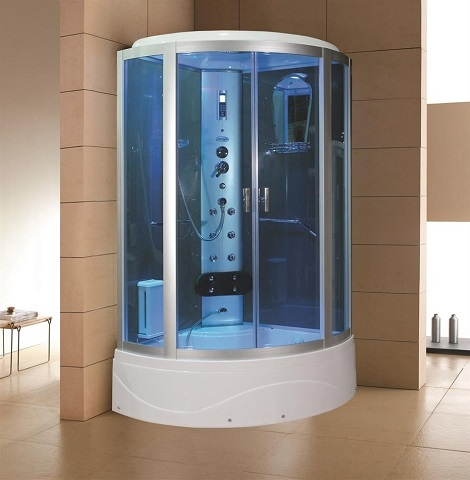 "36"" Eagle Bath WS-902L-36 Steam Shower Enclosure with Tub"