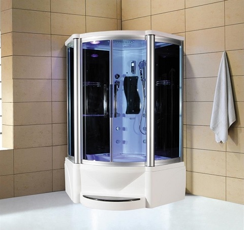 The Steam Shower Whirlpool Tub A Luxury Take On The Boring Shower Tub