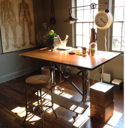 Standing desks are steadily growing in popularity. (By Emily Winters)
