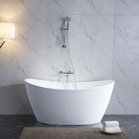 "Maya 67"" Freestanding Soaking Tub BT023D from Azzuri"