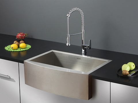 Verona Apron Front 16 Gauge Kitchen Sink RVH9300 from Ruvati