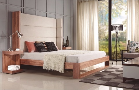 Lyon King Bed CB-709-K from Casabianca Home