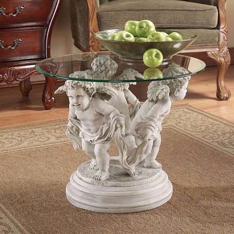 Bernini's Cherubs Table KY4114 from Toscano