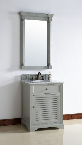 "26"" Single Bathroom Vanity Cabinet in Urban Gray, 238-104-V26-UGR by James Martin"