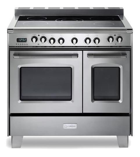 "Verona 36"" Classic Electric Range With Double Oven VCLFSEE365DSS from EuroChef"