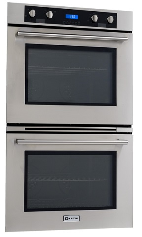 "Verona 30"" Self Cleaning Electric Double Wall Oven VEBIEM3030D from EuroChef"