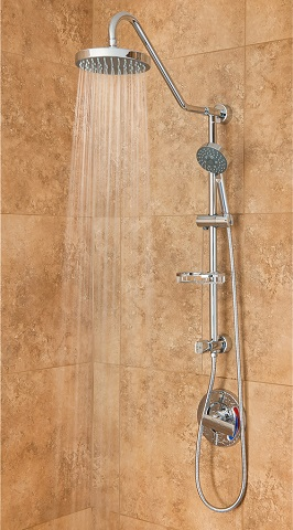 Kauai III Shower Spa 1011-III-CH-2.0GPM Shower System from the PULSE Retro Line