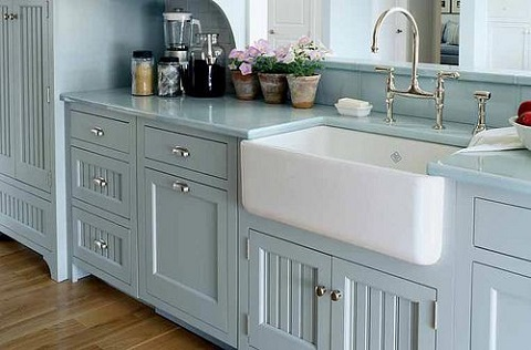 Shaws Fireclay Single Basin Apron Sink RC3018 from Rohl