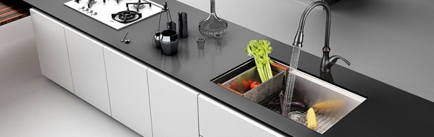 New Kitchen Sinks Hot new trend signature kitchen sinks to make your space shine workwithnaturefo