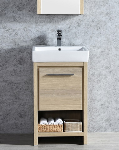 "Milan 20"" Bathroom Vanity Set 014-20-20-MC from Blossom"