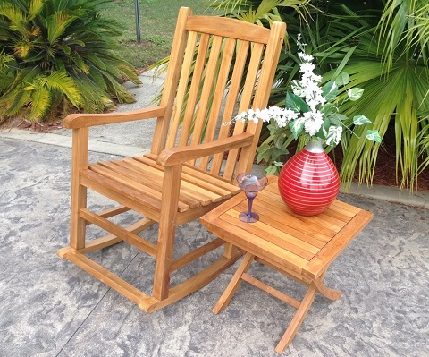 Rocking Chair WJ117 from Chic Teak