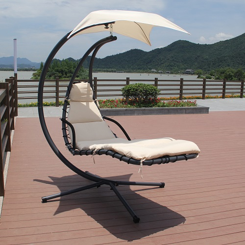 Sky Outdoor Lounger In Beige NMO-5-LB from AFD
