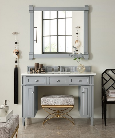 """Brittany 48"""" Wheelchair Accessible Bathroom Vanity in Urban Gray 651-V48-UGR from James Martin Furniture"""