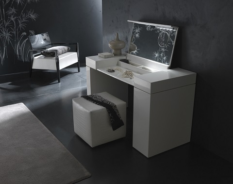 Nightfly White Home Office Desk R413850000068 from Rossetto