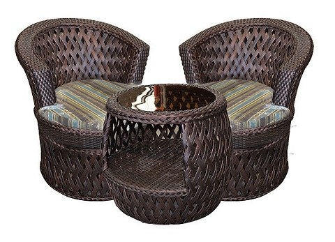 Swivel Leisure Bistro Set CDG-LS10915-C-C from AFD