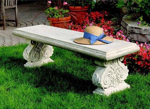 Cambridge Yard Garden Bench NE70403 from Toscano