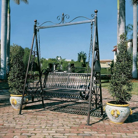 Rockaway Garden Swing FZ4016 from Toscano