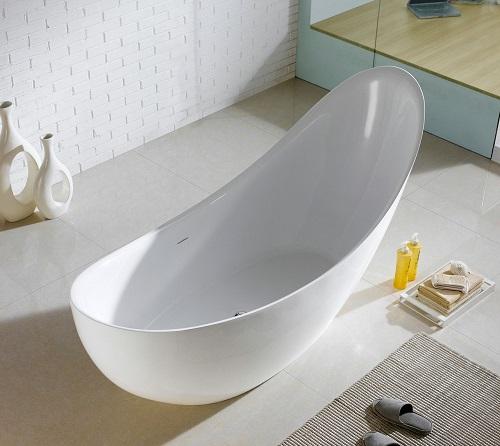"""Salto 8""""1 Freestanding Bathtub KFST1271 from KubeBath"""